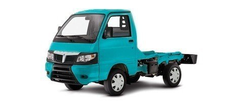 Piaggio Porter ECO-Power Chassis inkl. ABS LPG Benzin/Autogas (neues Modell), Farben:Blau