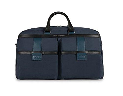 Piquadro Borsone WE Collezione Orion Tote da viaggio, Poliestere, Blu, 52 cm
