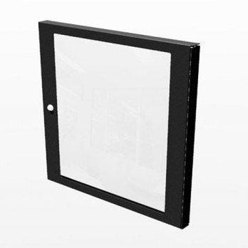 Penn Elcom R8450/10 rack gemonteerd op de muur zwarte plank – (rack gemonteerd op de muur, polycarbonaat, 520 mm, 36 mm, 10U, zwart)