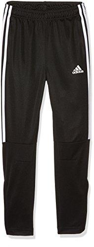 adidas Tiro 3 stripes Pantaloni bambino, Nero (Black/White), 6-7 Anni (Taglia produttore: 122)
