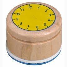 Stempel Lern die Uhr Bunte Geschenke Coppenrath Verlag KG 11554
