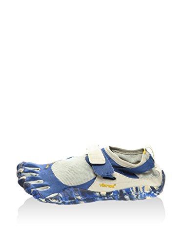 Vibram Fivefingers Multisport M146C KSO, Chaussures de Ville à Lacets pour Homme Bleu Bleu/Gris EU 45