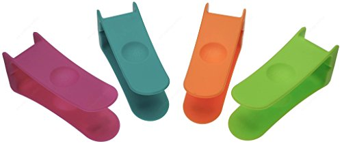 Zing!93166 Nylon Bagel Cutter/ Bagel Clip, Sold as 1 Pieces, Color May Vary