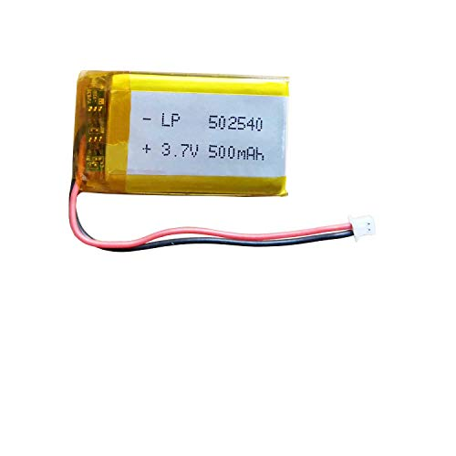 502540 3.7v Battery 500mAh for Sena SMH5 Bluetooth Headset Battery Replacement fits Sena SMH5-FM SMH5D Motorcycles Bluetooth Headset Intercom and More