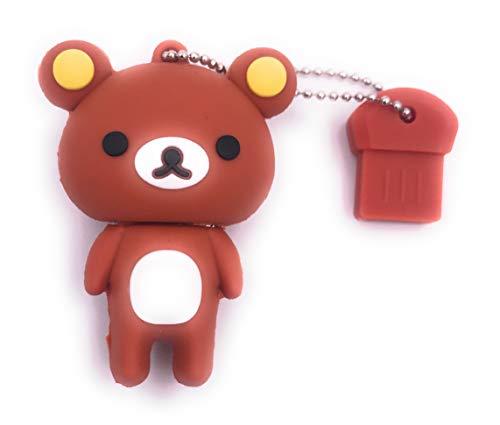 H-Customs Teddy Bär süßes Tier USB Stick Flash Laufwerk 8GB