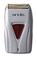powerful Andis 17150 Pro Foil Lithium Titanium Foil Shaver, Cable / Battery