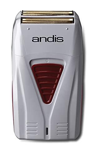 Andis 17150(TS-1) Pro Foil Lithium Titanium Foil Shaver, Cord Cordless, Gray