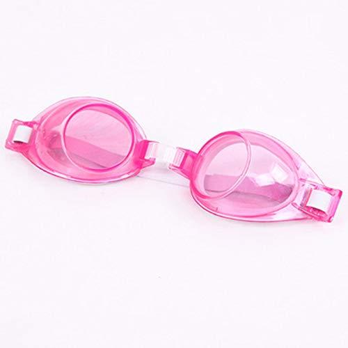 Instelbare waterdichte anti-fog cartoon-UV-bescherming zwembril voor kinderen.
