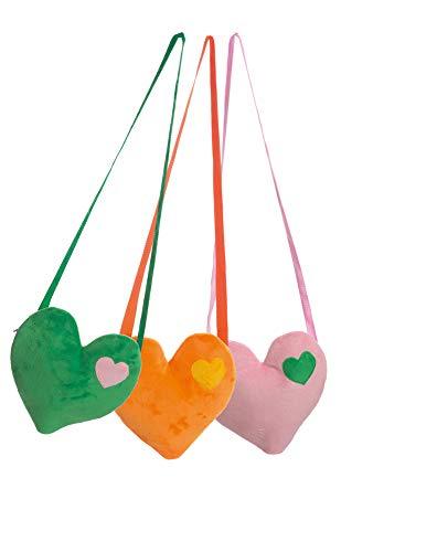 Orlob Handelsgesellschaft Tasche in Herzform (rosa)