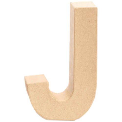 Papp-Buchstabe J, 17,5x5,5cm [Spielzeug]