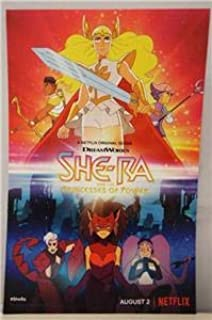 SDCC 2019 Exclusive SHE-RA and the Princesses of Power Netflix Series Poster 11