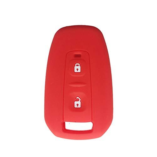 NUIOsdz Funda para Llave de Coche con Soporte de Gel de sílice, para Tata Vista Manza Indica CV4490