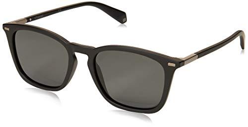 Polaroid Herren PLD 2085/S Sonnenbrille, MTT SCHWARZ, 52