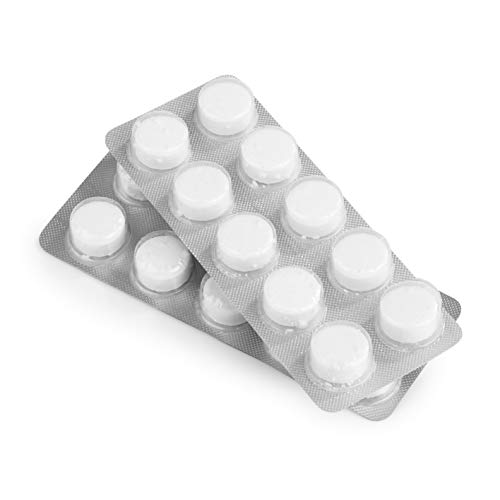 Beem, pastiglie di pulizia premium | 20 x 2 g | rimozione dei depositi di caffè | applicazione per macchine da caffè automatiche e portafiltro