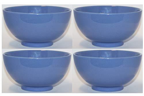 Waechtersbach Keramik 4er Set Fun Factory Cerealienschale Müslischale Müslischüssel Schale Schüssel Ø 15cm Bluebell