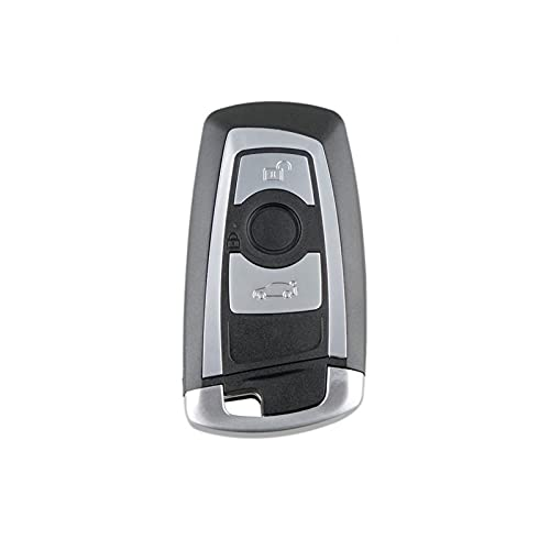 YYAN 3 Botones Key Fob Fob Cash Cash Shell Repuesto DE Cubierta REMENTERA Protector Ajuste para BMW 1 3 5 6 7 Serie X3 X4