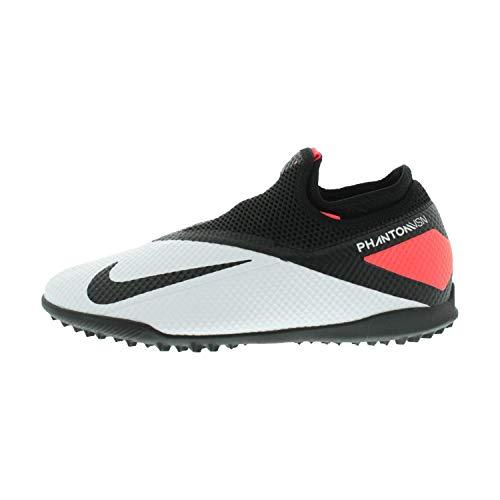 Nike Phantom Vision 2 Academy TF CD4172 - Scarpe da calcio, da uomo, colore: grigio, Grigio (grigio.), 41 EU
