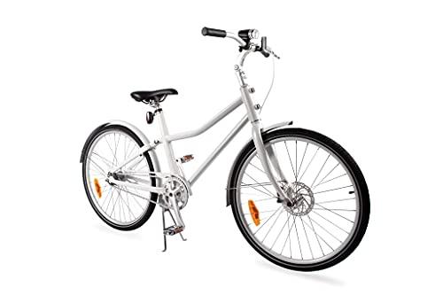 Blanco Aluminiumrahmen Unisex Fahrrad 'City Bike Deluxe' 28 Zoll 2 Gang Automatikschaltung - Weiß