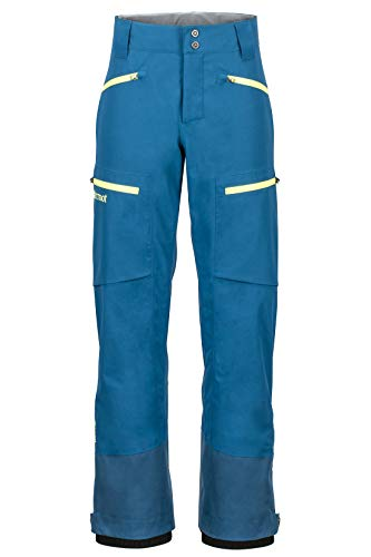 Marmot Herren Freerider Pant Hardshell Ski- Und Snowboard Hose, Winddicht, Wasserdicht, Atmungsaktiv, Moroccan Blue, L