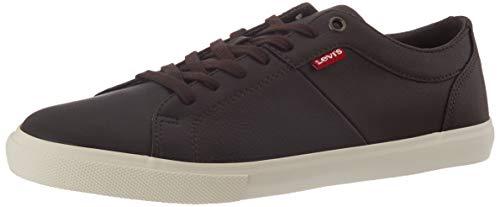 Levi's Herren Woods Schuhe, Dunkel Braun, 42 EU