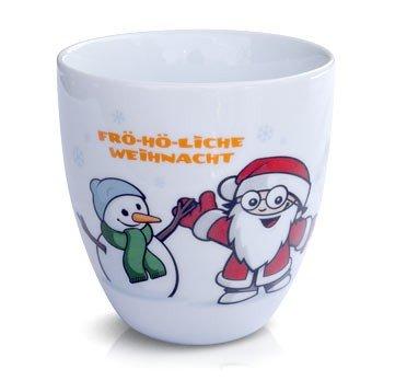 Mainzelmännchen Weihnachtstasse