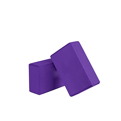 LEYU-Y YJD Yoga Block - Blocco di schiuma di EVA Pilates ad alta densità, sala yoga, ginnastica, stretching - Vari colori di mattoni per esercizi yujiadian-guo (Colore : #5)