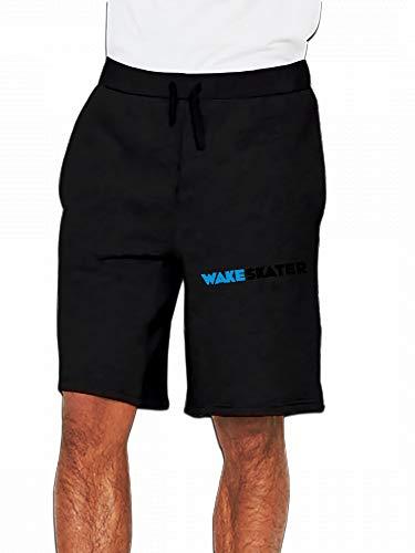 JiJingHeWang Wakeskate Wakeskater Wakeboard Wakeskating Mens Casual Short Trouser