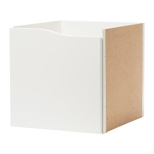 Unbekannt IKEA KALLAX Regal Einsatz mit Tür ohne Griff in weiß; (33x33cm)
