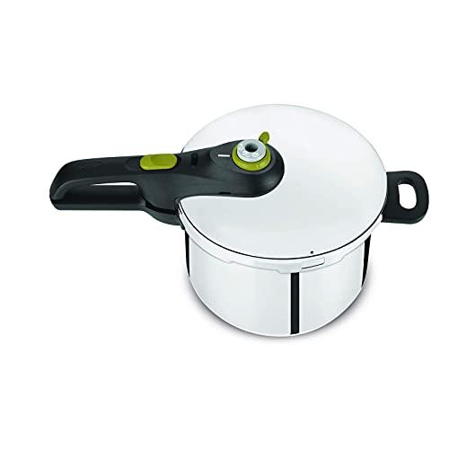 YFGQBCP Robot Cocina Cocina de presión Segura 5 Neo 4LITRE, Todas Las Fuentes de Calor, incluida la inducción, el Acero Inoxidable