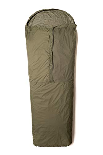Snugpak Special Forces Bivvi Bag, Emergency Survival Bivy with Half Length Center Zip, Olive