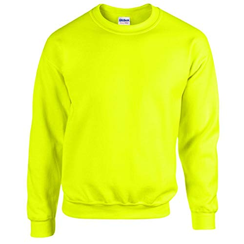 Gildan - Heavy Blend Sweatshirt - S, M, L, XL, XXL, 3XL, 4XL, 5XL /Safety Green, 5XL
