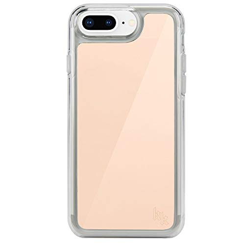 Kendall + Kylie KKIPH-021-RGLD Mirrored Case for iPhone 8/7/6/6s Plus - Rose Gold
