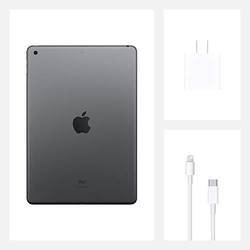 New Apple iPad (10.2-inch, Wi-Fi, 32GB) - Space Gray (Latest Model, 8th Generation)