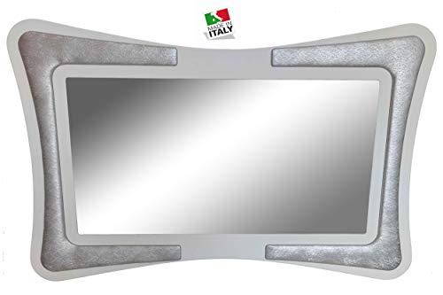 SPECCHIERA Fili Argento; Arredo Soggiorno Salotto Camera da Letto Cucina da Ingresso Ufficio Bar Ristorante Regalo utili, Originali e a Prezzi Bassi