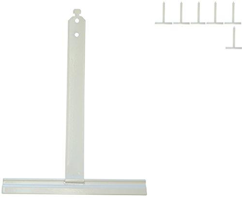 6x Alu Aufhängefedern für MAXI Rollladen, Sicherungsfeder, Aufhängeleiste,