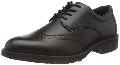 Shoes for Crews 20301-42/8 EXECUTIVE WINGTIP IV - Scarpe in pelle antiscivolo, da uomo, taglia 42, colore: Nero