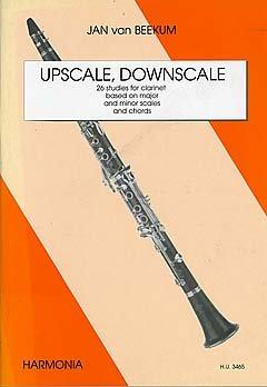 UPSCALE DOWNSCALE - arrangiert für Klarinette [Noten / Sheetmusic] Komponist: BEEKUM JAN VAN