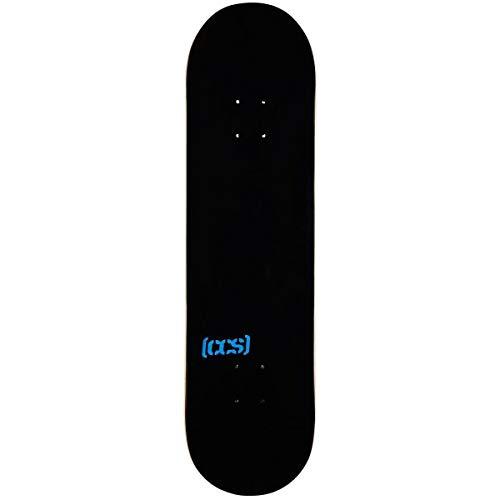 CCS Logo Blank Skateboard Deck - Natural Wood/Colors/Multiple Sizes (Black, 8.50')
