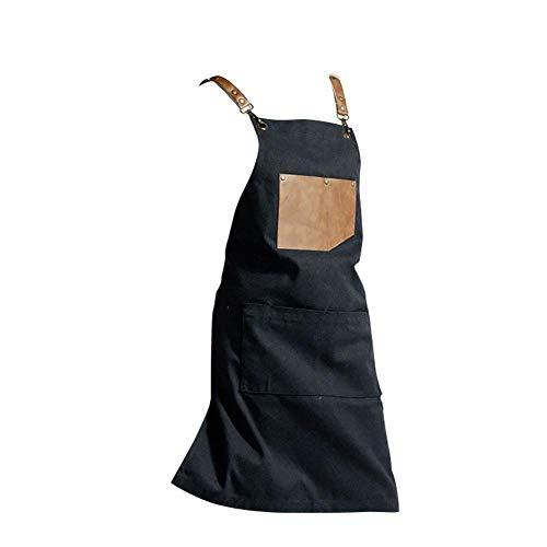 Schort slabschort verstelbare nekband, kookschort/keukenschort met nuttige gereedschappen magazijn perfect geschikt als huis, restaurant, handwerk, tuin, grill, school, koffiehuis, schort