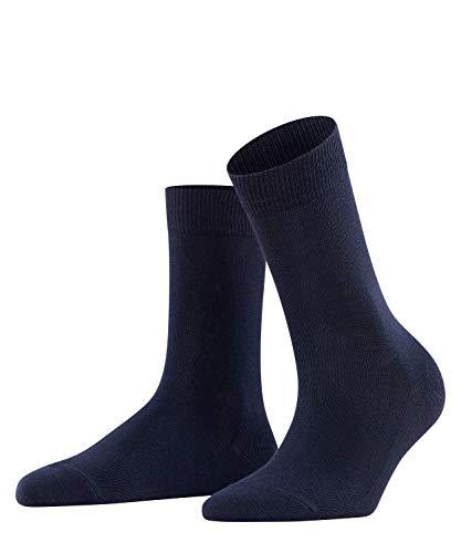 FALKE Damen Socken Family - 94% Baumwolle, 1 Paar, Blau (Dark Navy 6379), Größe: 39-42
