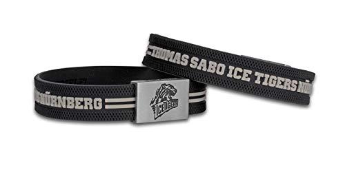 BRAYCE® Thomas Sabo Icetigers Armband mit Logo Gravur I Nürnberg Style am Arm & Eishockey pur (18cm)