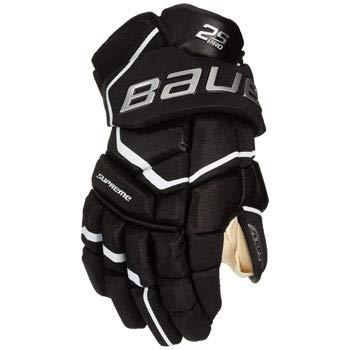 Bauer Supreme S19 2S Pro Senior Eishockey-Handschuhe, Schwarz/Weiß 13