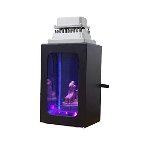 UV-Harz-Polymerisationslampe mit Geschenkbox für SLA DLP LCD 3D-Drucker verfestigen 405 nm UV-Harz-Solardrehscheibe