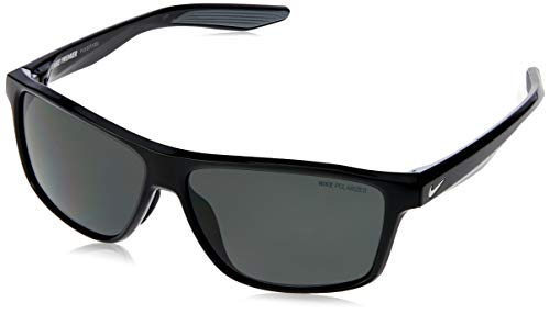 NIKE Premier P EV1073, Injected Gafas de Sol Blk/SIL/Grey Polarized Lens Unisex Adulto, Multicolor, Standard