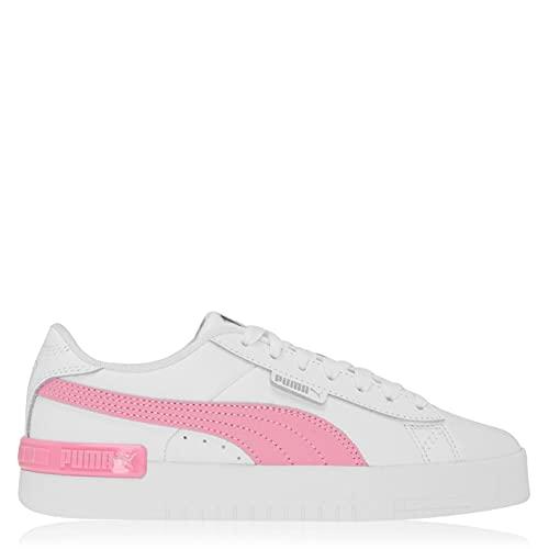 Puma Jada Mujer Zapatillas Deportivas con Cordones Planas Blanco/Rosa EUR 39