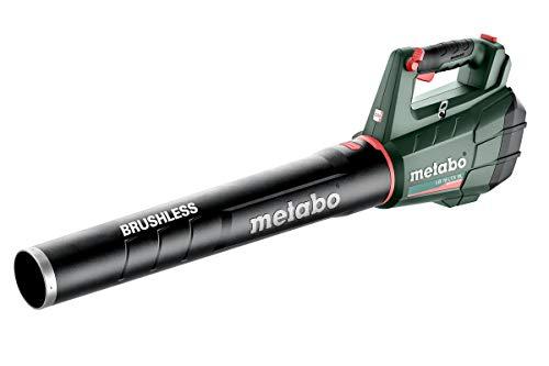 Metabo 601607850 Laubbläser LB 18 LTX BL (Laubgebläse ohne Akku, Luftgeschwindigkeit 150 km/h, Luftmenge 650 m³/h, Laub) 600467850