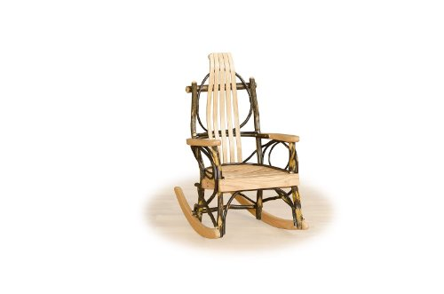 Furniture Barn USA Rustic Hickory Child Rocker- All Hickory - Amish Made