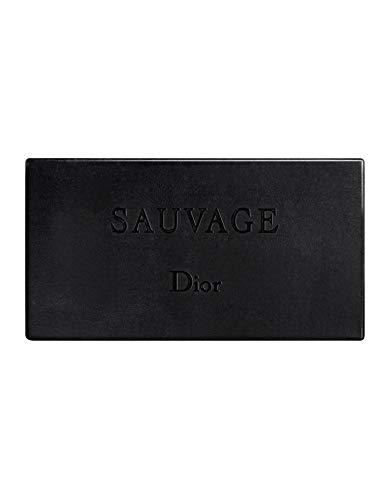 Dior Unisex JABON Sauvage SOAP 200GR, Negro, Standard