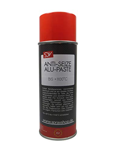 SDV Chemie Anti Seize Alupaste Spray 3X 400ml Aluminiumpaste Montagepaste Bremspaste 1100°C