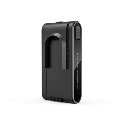 Eufy HomeVac S11 Go 交換用バッテリーパック (ブラック)